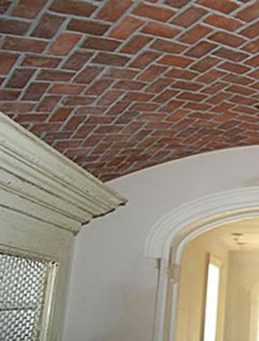 Flemish Bond Inglenook Brick Tiles Thin Brick Flooring
