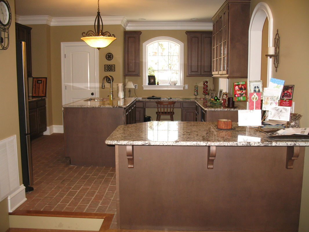 kitchens - inglenook brick tiles - thin brick flooring, brick