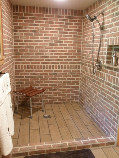 Bathrooms Inglenook Brick Tiles Brick Pavers Thin