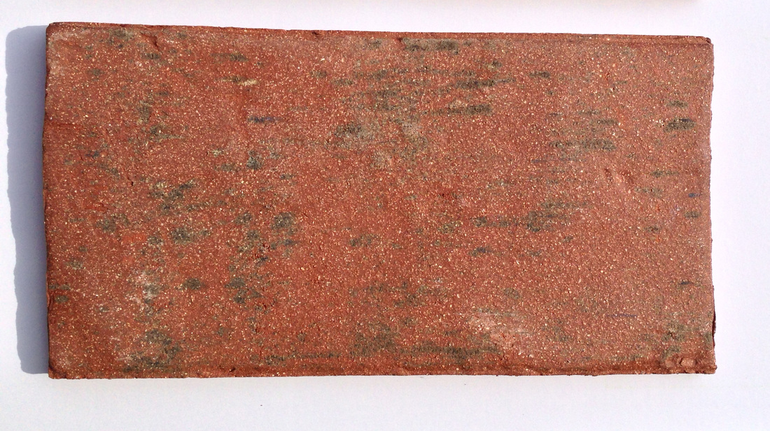 Picture thin brick handmade floor tile