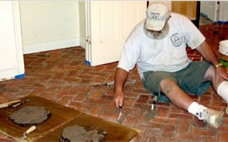 Brick Floor Tile calculating the cost of a brick floor project If Youve Never Installed Tiles We Also Suggest You Use The Tile Council Of America Handbook For Ceramic Tile Installation As A Guide