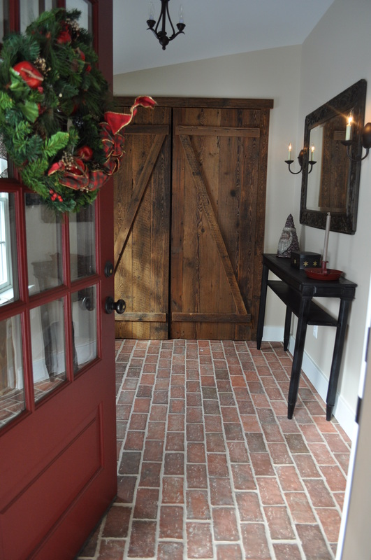 Entryways And Hallways Inglenook Brick Tiles Brick Pavers Thin
