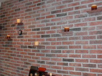 Picture thin brick tile wall