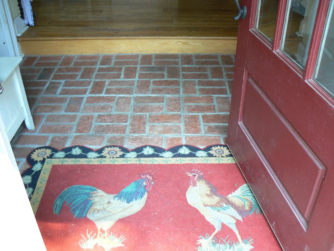 Entryways and hallways inglenook brick tiles brick pavers entryways and hallways inglenook brick tiles brick pavers thin brick tile brick floor tile dailygadgetfo Images