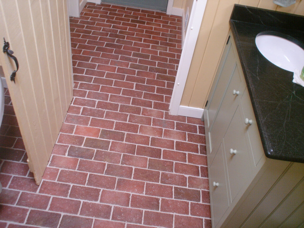 brick tile flooring traditional antique inglenook brick tiles brick pavers 28949